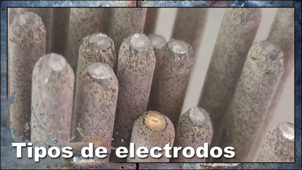 Tipos de electrodos para soldadura